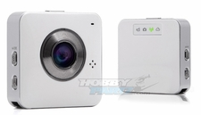 Portable Multifunction WIFI/DVR/APP Controllable 5.0MP Camera (White)