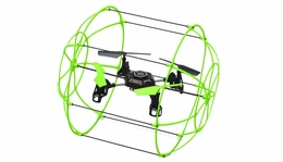 Sky Walker 1306 4 CH  QuadCopter Drone 2.4ghz 6-Axis Gyro Ready to Fly Drones (Green) RC Remote Control Radio