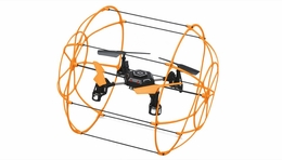 Sky Walker 1306 4 CH RC Quad Copter 2.4ghz Ready to Fly Drones (Orange)