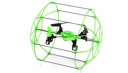 Sky Walker 1307 4CH Glow in the Dark QuadCopter 2.4ghz 6-Axis Gyro Ready to Fly RC Remote Control Radio