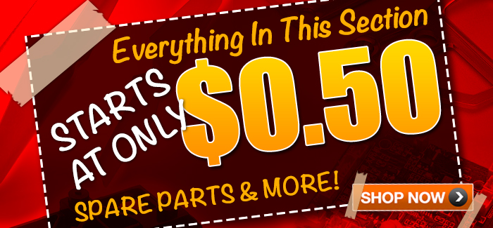 Need to Fix or Upgrade Your R/C? Score the Best Bargains on Spare Parts!