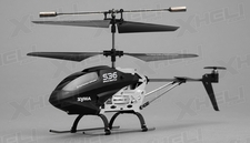 Syma RC  S36 2.4ghz 3CH Helicopter with Gyro (Black)