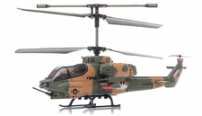 SYMA S036G Gunship 3 Channel  Helicopter w/ Gyro (Camo) RC Remote Control Radio