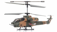 SYMA S036G Gunship 3 Channel RC Helicopter w/ Gyro (Camo)