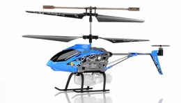 Syma S107P Bubble  3 Channel Helicopter w/ Gyro (Blue) RC Remote Control Radio