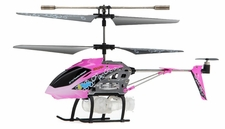 Syma S107P Bubble RC 3 Channel Helicopter w/ Gyro (Pink)