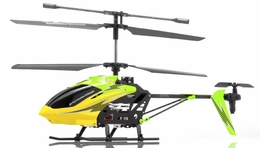 Syma S32 Metal Lightning  3 Channel Helicopter 2.4Ghz w/ Gyro (Green) RC Remote Control Radio