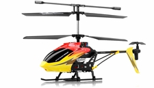 Syma S32 Metal Lightning RC 3 Channel Helicopter 2.4Ghz w/ Gyro (Red)