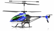 "Syma S33 3 Channel Metal RC Helicopter 2.4ghz 30"" Long w/ Gyro (Green)"