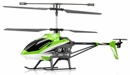 "Syma S33 3 Channel Metal  Helicopter 2.4ghz 30"" Long w/ Gyro (Green) RC Remote Control Radio"