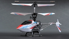 Syma S800G Metal Frame 4 Channel Coaxial Infrared  Helicopter RTF w/ Gyro (White) RC Remote Control Radio