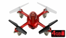 SYMA X11C 2.4G 4CH 6 Axis RC Quadcopter with 2.0MP Camera 360 Degree Flip Function w/ 4GB Memory Card (Red)
