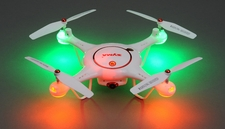 Syma X5UC Hover Camera  Quad 2.4G 6-axis Gyro RC Drone Quadcopter Ready to Fly w/ (2) Batteries and 8GB Memory SD Card