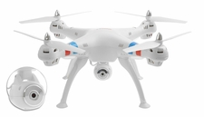 Syma X8C Venture 4 CH 2.4 Ghz  Quadcopter Drone with HD Camera 6 Axis 3D Flip w/ 4GB Memory Card (White) RC Remote Control Radio