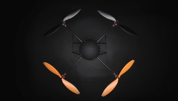 T580P+ Almost Ready To Fly Retractable  QuadCopter Drone Carbon Fiber Brushless/ESC/Gyro ARF RC Remote Control Radio