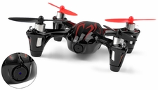 The Hubsan X4 with HD Camera 2.4ghz 4 Channel Mini R/C Quadcopter Drone (Black)