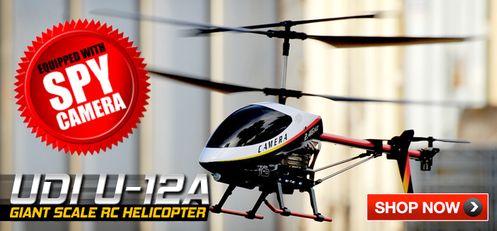 NEW UDI U-12A Giant Scale Helicopter