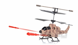 U809 Cobro Missile Helicopter Replacement Parts-Desert (NO ELECTRONIC INCLUDED)