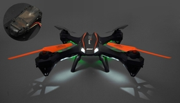 UDI RC U842 Falcon Quadcopter HD Camera 6 Axis Gyro Flipping 2.4ghz Ready to Fly  w/ 4G Memory Card (Black)