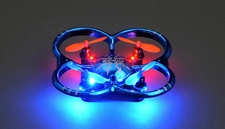 UDI U207 6-Axis UFO Intruder Mini RC Quadcopter Ready to Fly 2.4ghz (Blue)