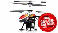 WL Toys V319 3.5 Channel Water Spraying Metal  Helicopter RTF with Built in Gyro RC Remote Control Radio