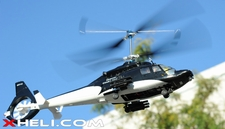 Walkera Lama 400 Metal 2.4GHz 4CH US CNC RC Electric Helicopter RTF w/ w/ Metal Head + Flashing LED Head & Tail Lights (Black Version)