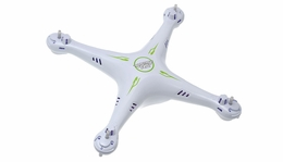 White Fuselage for Hero RC XQ5 56P-XQ6-Fuselage-White