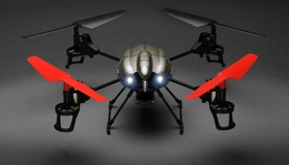 WL Toys RC 4 Channel Quadcopter V959 Future Battleship Spy Drones