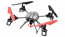 WL Toys RC 4 Channel Quadcopter V999 Future Battleship w/ Rescue Crane Basket Grabbing Hook Drones