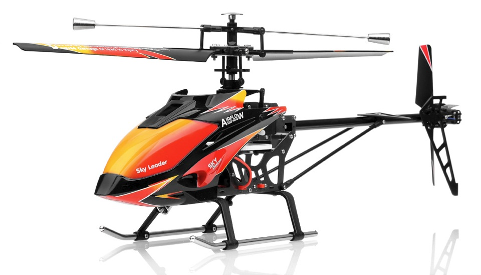 WL Toys Sky Dancer 4 Channel Fixed Pitch Helicopter Ready ...