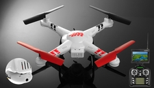 WL Toys V686G 5.8 FPV Headless Mode 4ch RC Quadcopter Drone with 2MP Camera w/Real-time Transmission/4GB Memory Card