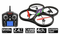 WLtoys V333 2.4G 6 Axis UFO Quadcopter Drone RTF w/ Build in Camera (Green) RC Remote Control Radio UAV