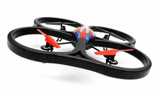WLtoys V333 2.4G 6 Axis RC Quadcopter RTF w/ Build in Camera (Red)