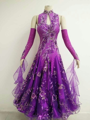 Purple Ballroom dresses for Ladies B1563