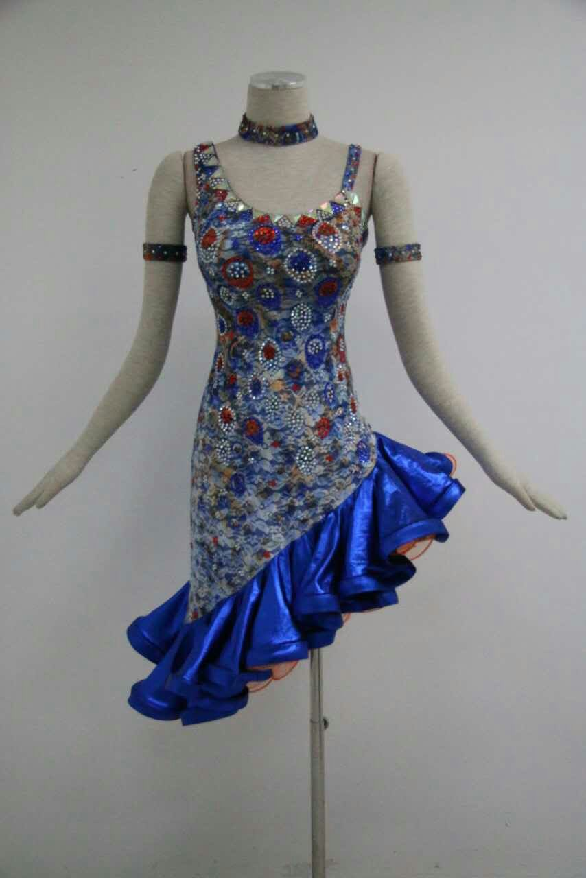 ladies dance dresses L956