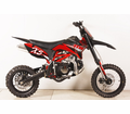 """Apollo/Orion Ultra-Elite 125cc Pit / Dirt Motorcycle. -Twin-Spar Tubular Frame (Compare to Honda) -Upgraded Rear Swing-Arm - 14"""" Front Wheel - Rugged Inverted Forks -"""