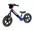Fly Racing Deluxe Strider Youth Trainer Bike - Number Plate - Frame-integrated Footrests - Sport Wheels - Flat Proof Tires - Easy Height Adjustment  -