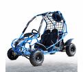 Kymoto XR Ultra Deluxe Midsize Youth Go Kart - Optional Spare Tire -