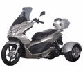 Q-6 50cc Trike/Scooter - Deluxe Upgraded Model -