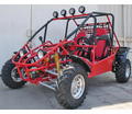 Regency SRB 800 2-Seat Power Buggy-Rail Style with Sun Shade, Top Lights, Shaft Driven, Custom Wheels