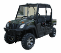 Titan Utv - 500cc 4-Seater Utility Vehicle - Fuel Injection Engine - 4X4/2X4 Switchable - W/ Stereo, Convertible Roof <H3>4-Seat Model</H3>