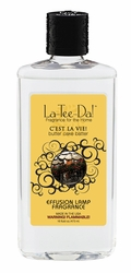 16 oz.  C'est La Vie La Tee Da Fragrance Oil | 16 oz. La Tee Da Fragrance Lamp Oils
