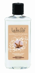 16 oz.  Footprints in the Sand Ocean Shore La Tee Da Fragrance Oil | 16 oz. La Tee Da Fragrance Lamp Oils