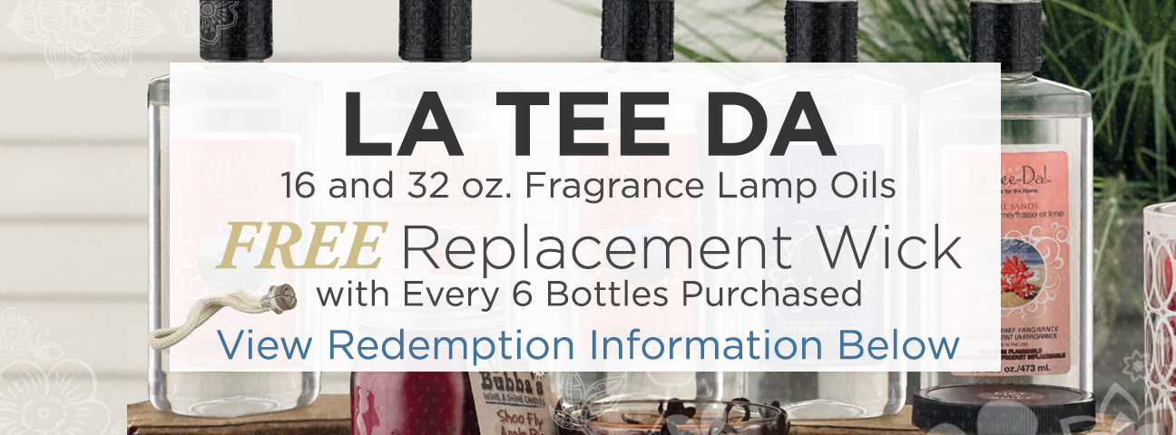 16 oz. La Tee Da Fragrance Lamp Oils