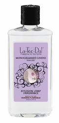 16 oz.  Monogrammed Linens Lavender La Tee Da Fragrance Oil | 16 oz. La Tee Da Fragrance Lamp Oils
