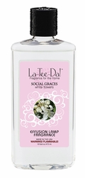 16 oz.  Social Graces White Flowers La Tee Da Fragrance Oil | 16 oz. La Tee Da Fragrance Lamp Oils