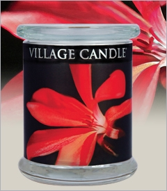 21oz Radiance Wooden Wick Village Candles