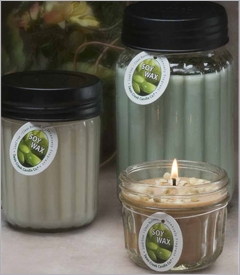 24oz Homespun Jar Candles