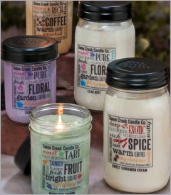 24oz Kitchen Pantry Jar Candles
