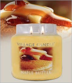 26oz Premium Round Village Candles